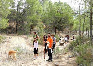 Ruta senderista canina en Moratalla (Murcia)