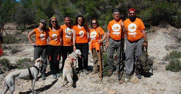Ruta de senderismo con nuestros perros en el Valle Perdido